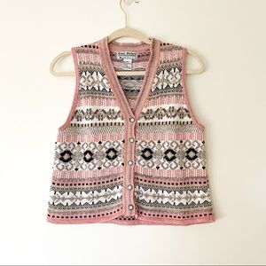 Gina Peters Knitted Vest Petite S